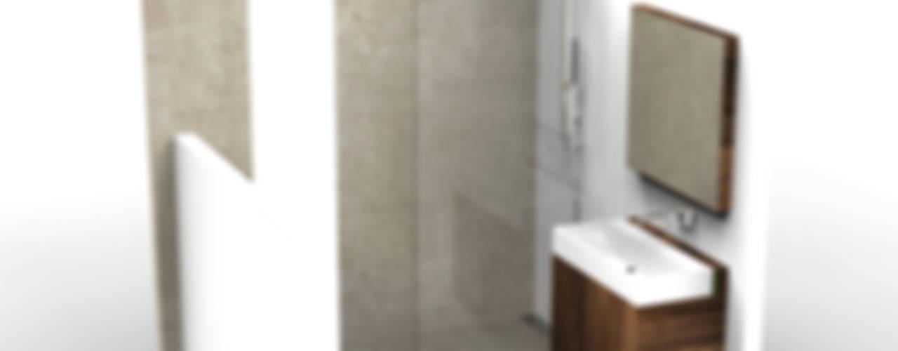 Minimalistic Bathroom Minimalistische badkamers van Alexander Claessen Minimalistisch