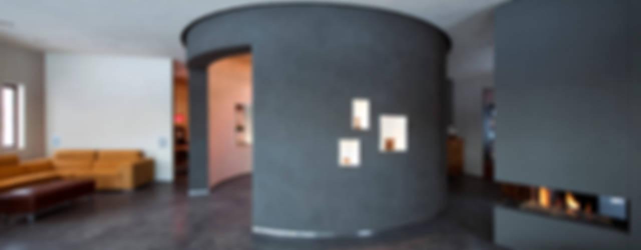 Villa Dalí Moderne muren & vloeren van 123DV Moderne Villa's Modern