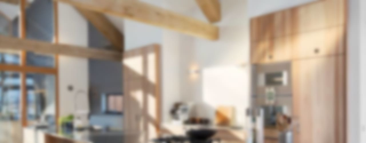 Schuurwoning Leusden Moderne keukens van Kwint architecten Modern
