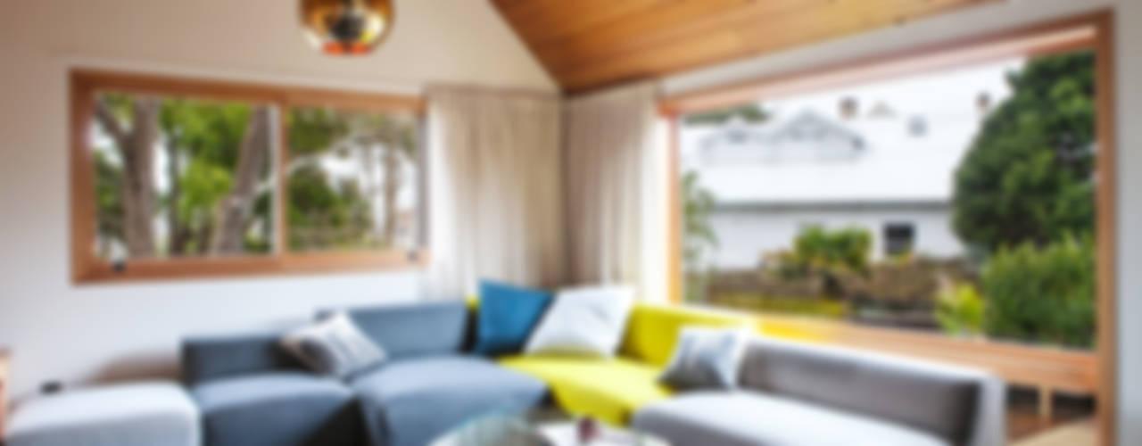 Projekty,  Salon zaprojektowane przez Dorrington Atcheson Architects, Nowoczesny