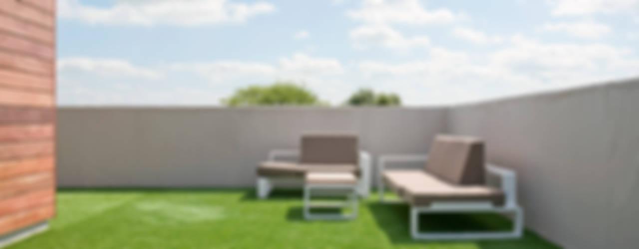 Jardines de estilo moderno de Engel Architecten Moderno