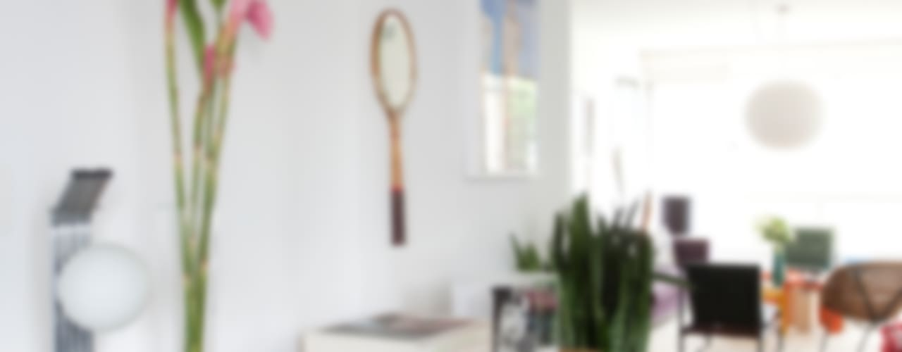 APTO ANTONIO CARLOS Salas de estar ecléticas por Mauricio Arruda Design Eclético