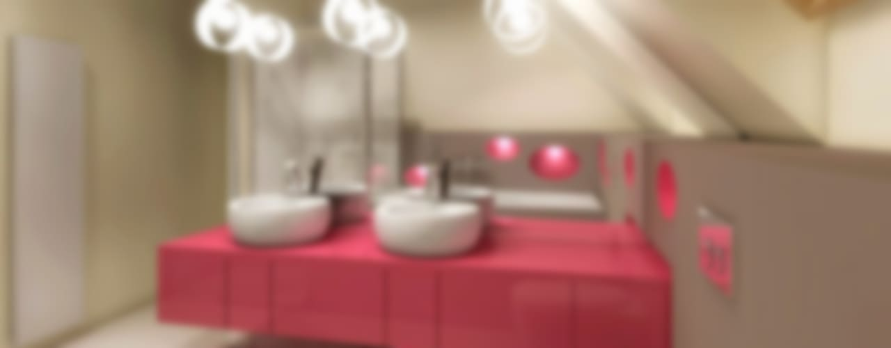 Studio Projektowe Projektive의  욕실, 모던
