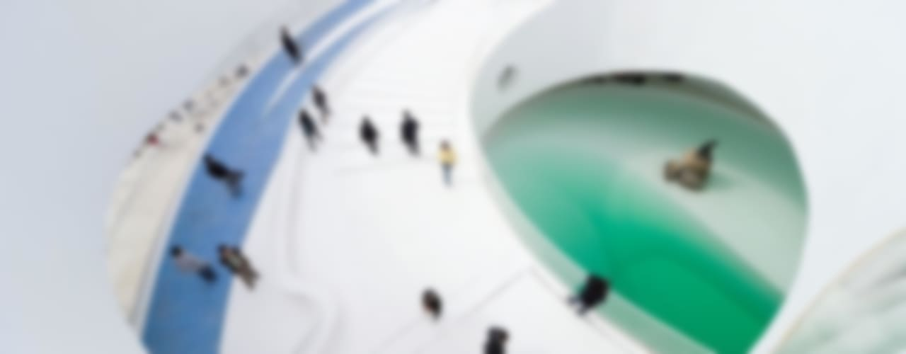 EXPO 2010 DANISH PAVILION de BIG-BJARKE INGELS GROUP Moderno