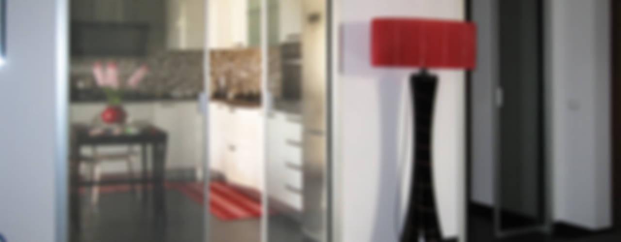 porte in vetro di design di bellinvetro Moderno