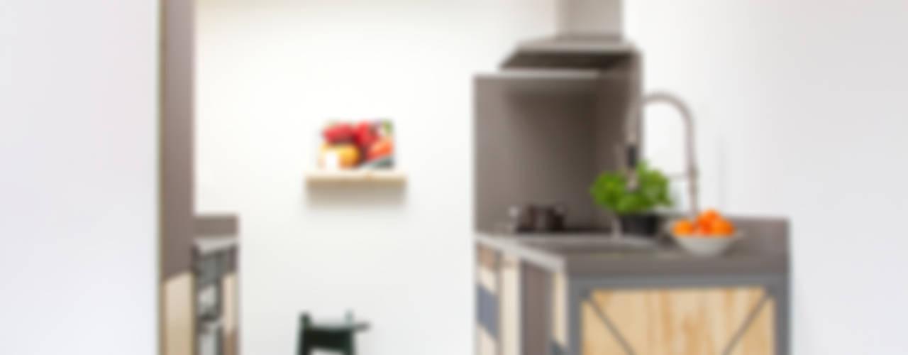 Industrialna kuchnia od Studio Mieke Meijer Industrialny