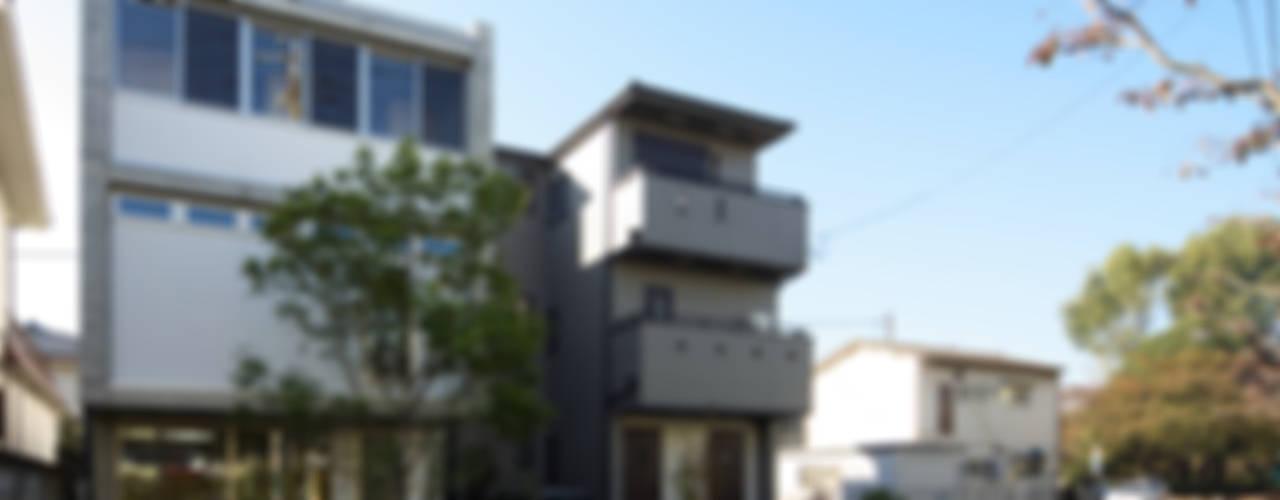 府中の住宅: 佐藤重徳建築設計事務所が手掛けた家です。,オリジナル