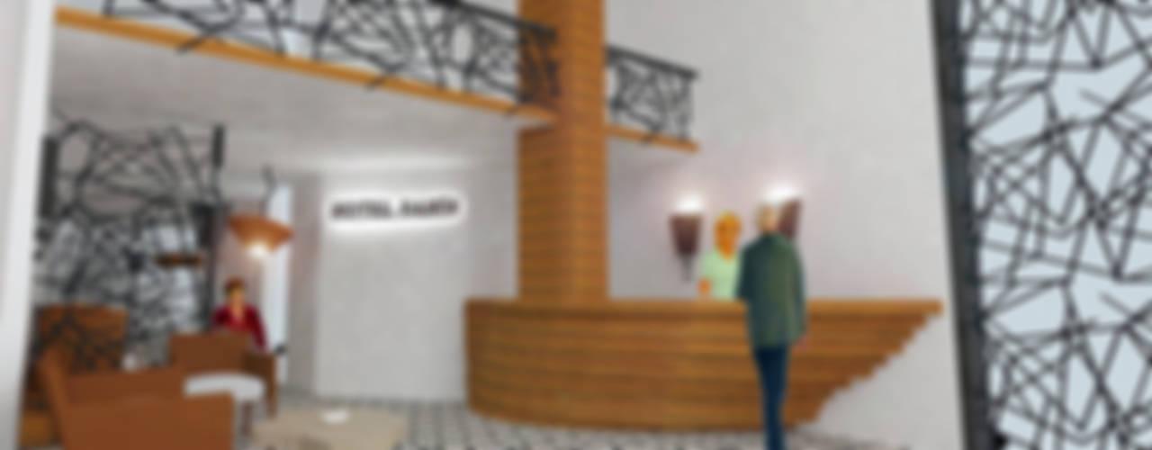 MAHAL MİMARLIK / MAHAL ARCHITECTS – SAMİR OTEL CEPHE VE İÇ MEKAN YENİLEME PROJESİ: modern tarz , Modern