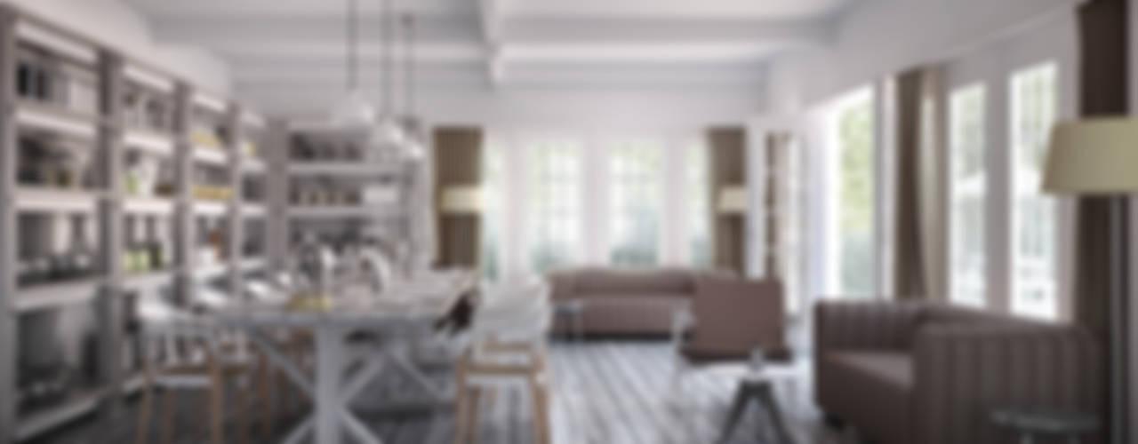 Rocas D vmavi Modern dining room
