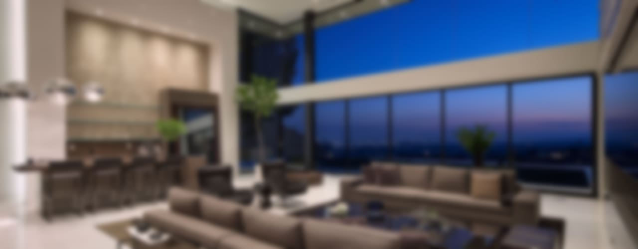 modern Living room by McClean Design