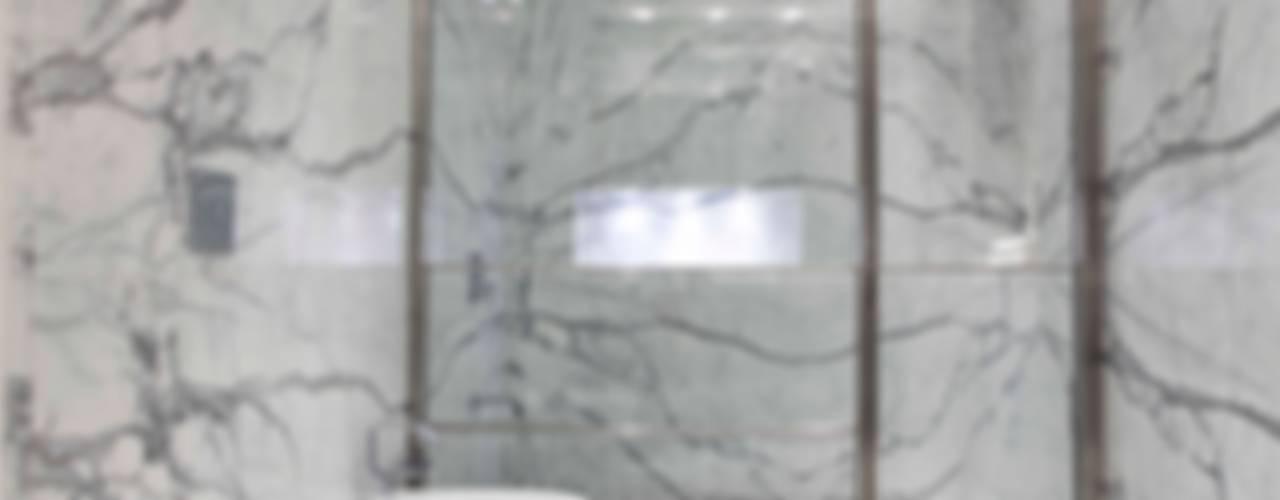 Nowoczesna łazienka od LIVE IN Nowoczesny