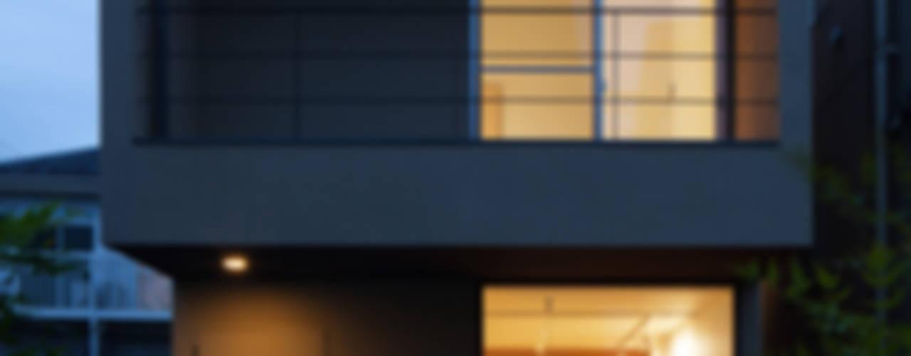 中野南台の家 The house of Nakano wooden fire-resistance オリジナルな 家 の 荻原雅史建築設計事務所 / Masashi Ogihara Architect & Associates オリジナル