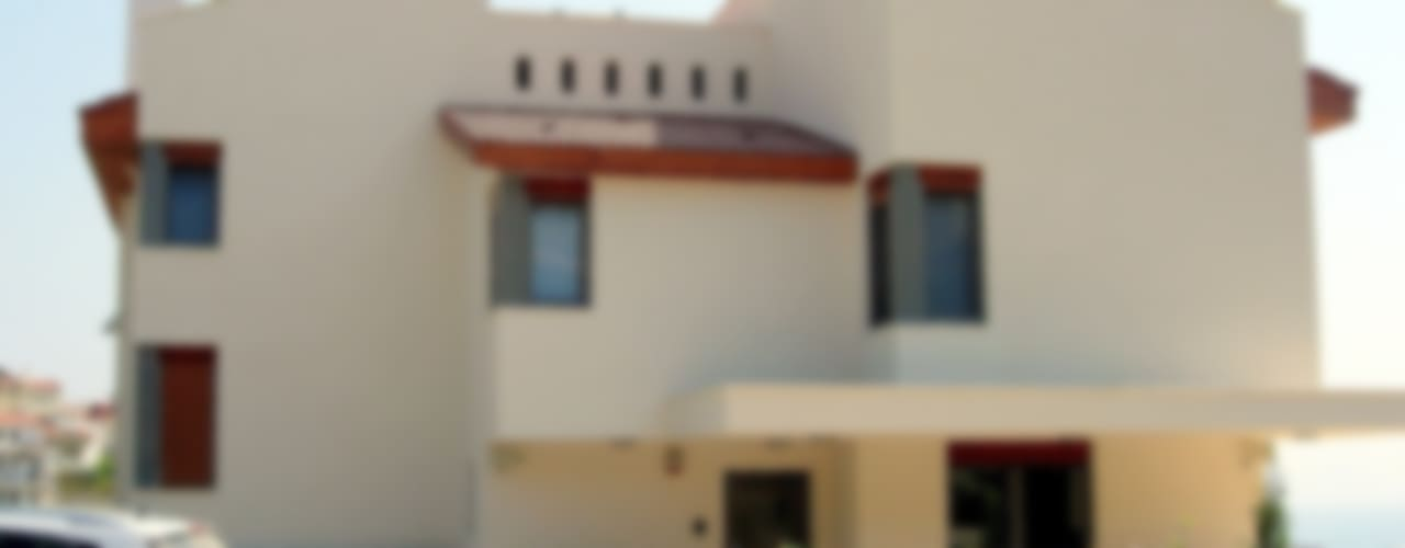 DATÇA ASLI & MURAT RENA EVİ Modern Evler Etüd Mimarlık Müşavirlik İnş. San. Tic. Ltd. Şti. Modern