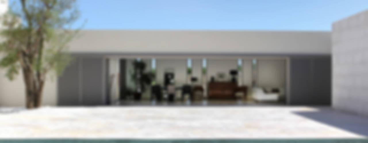 Minimalist house by Hamerman Rouby Architectes Minimalist