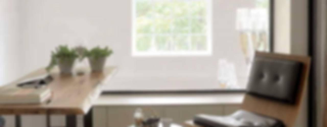 House E - E Evi Modern Çalışma Odası HANDE KOKSAL INTERIORS Modern