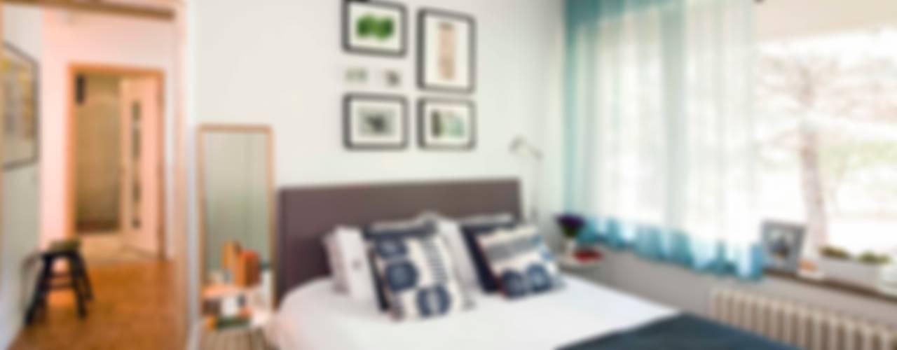 HANDE KOKSAL INTERIORS – House S - S Evi:  tarz Yatak Odası