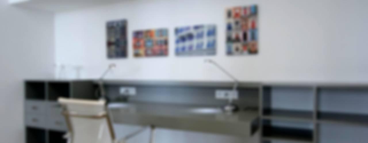 House C3 - C3 Evi HANDE KOKSAL INTERIORS Modern Çalışma Odası