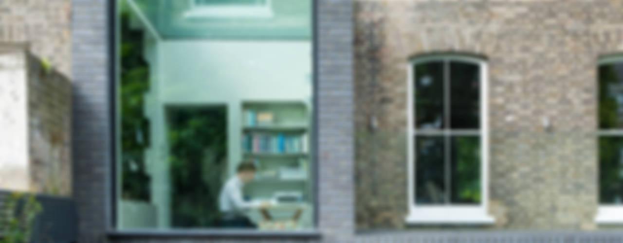 A Brick and a Half house Minimalist study/office by Lipton Plant Architects Minimalist
