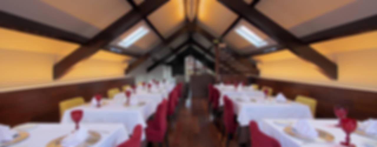 Restaurante Salpoente Espaços de restauração modernos por GAAPE - ARQUITECTURA, PLANEAMENTO E ENGENHARIA, LDA Moderno