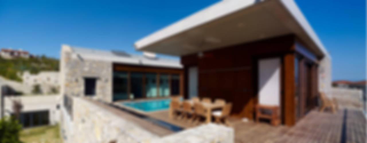 #1 Modern Balkon, Veranda & Teras TEGET Mimarlık Modern