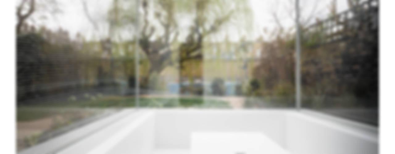 White on White Kış Bahçesi Gianni Botsford Architects