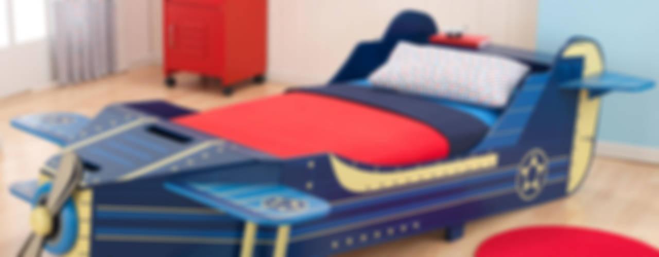 Transport Themed Bedroom Ideas por Cuckooland Moderno