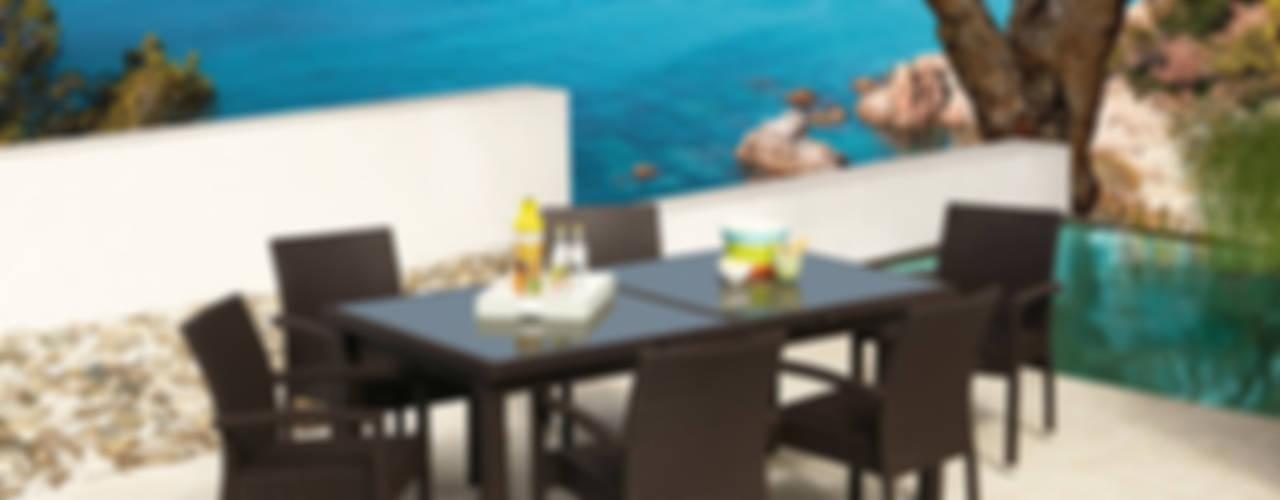 Colección completa de muebles de jardin para uso privado de Jardini -Muebles de jardín Mediterráneo