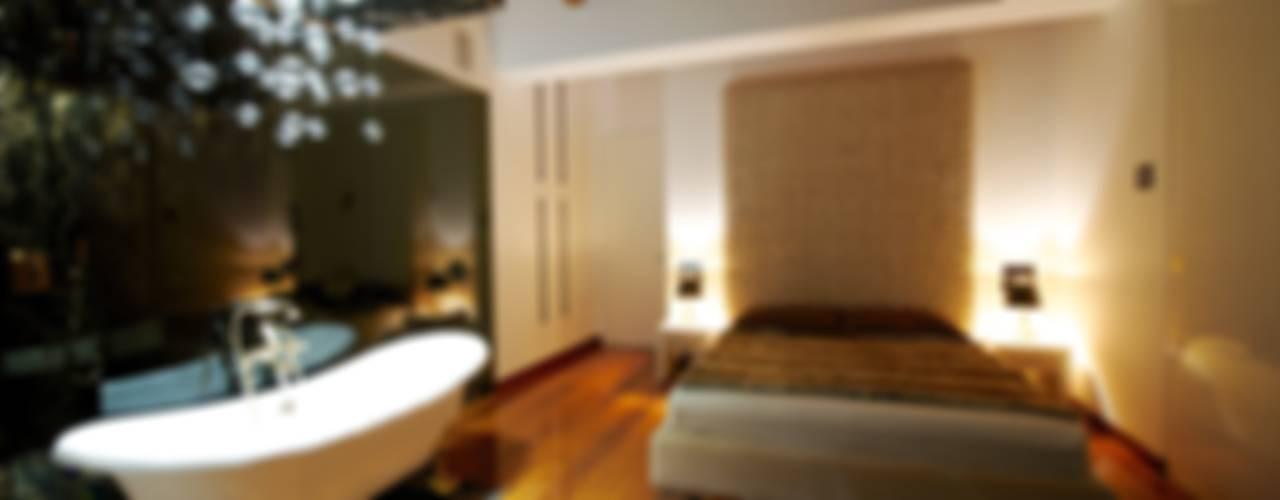 Projekty,  Sypialnia zaprojektowane przez Matteo Gattoni - Architetto, Nowoczesny