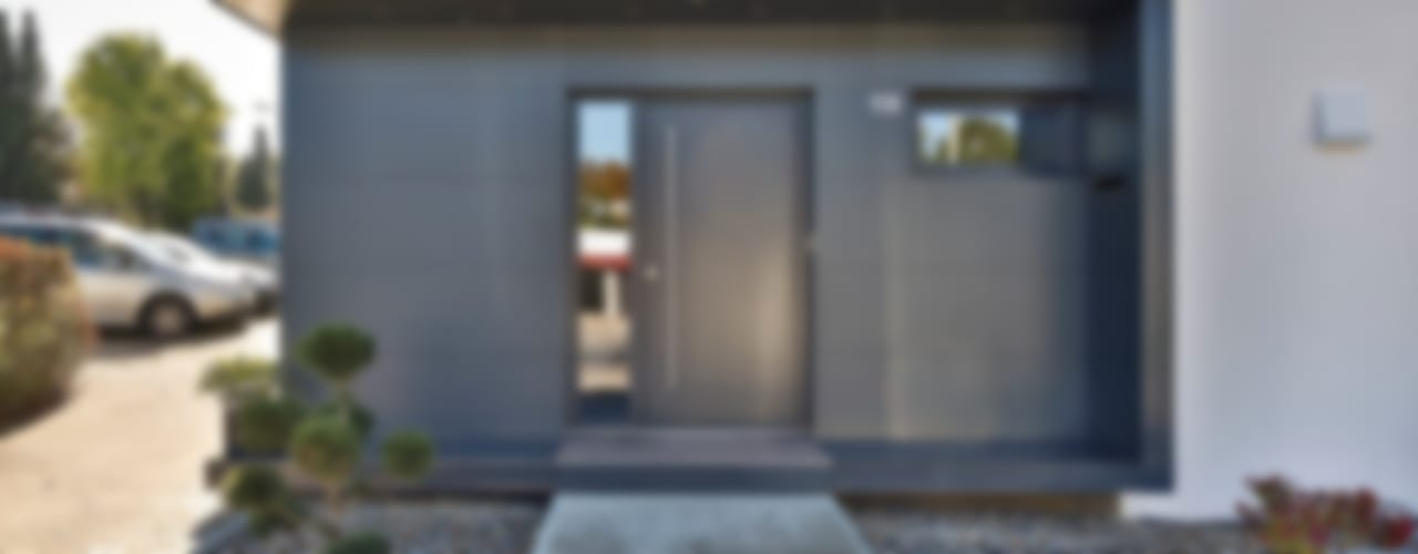 Nowoczesne domy od 4plus5 Nowoczesny