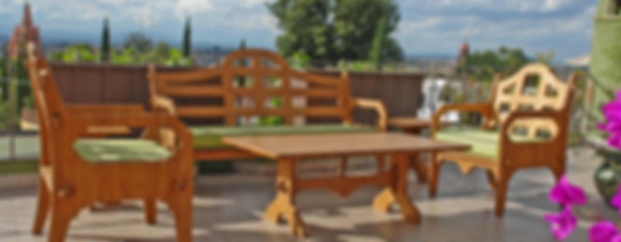 Juego de terraza fabricado de Bambú de Wedgewood Furniture Moderno