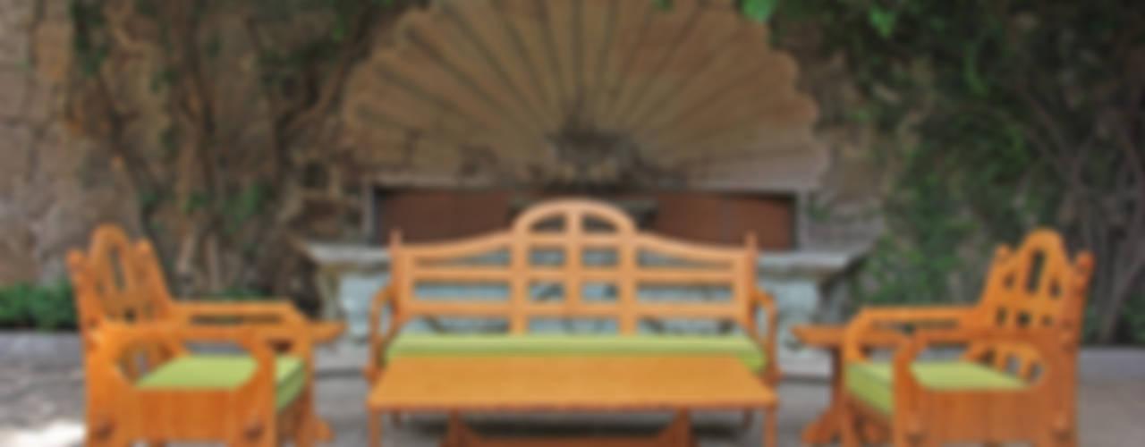 Juego de terraza fabricado de Bambú:  de estilo  por Wedgewood Furniture, Moderno