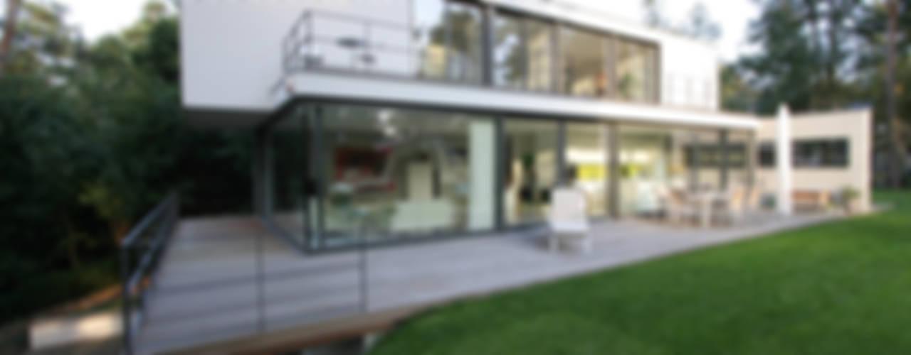 Haus W Moderne Häuser von THOMAS BEYER ARCHITEKTEN Modern