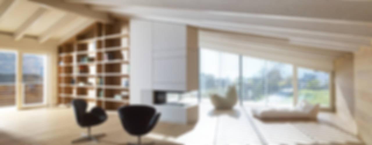 MP apartment Minimalistische Arbeitszimmer von Burnazzi Feltrin Architects Minimalistisch