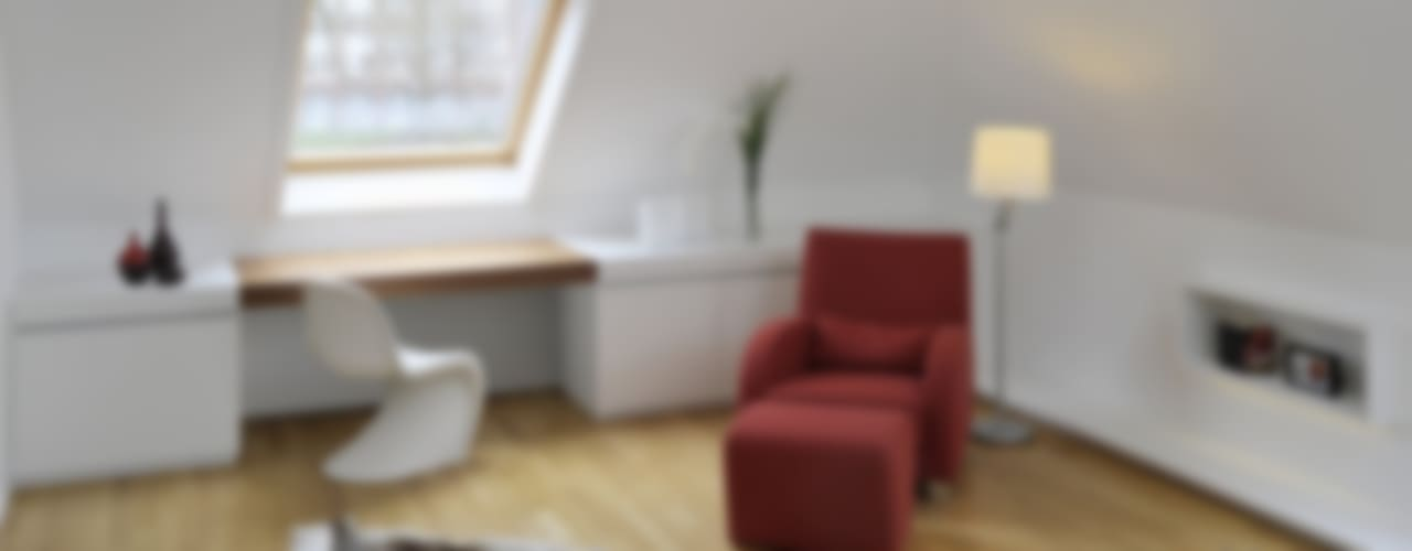 Dormitorios de estilo moderno de KPLUS KONZEPT GMBH Moderno
