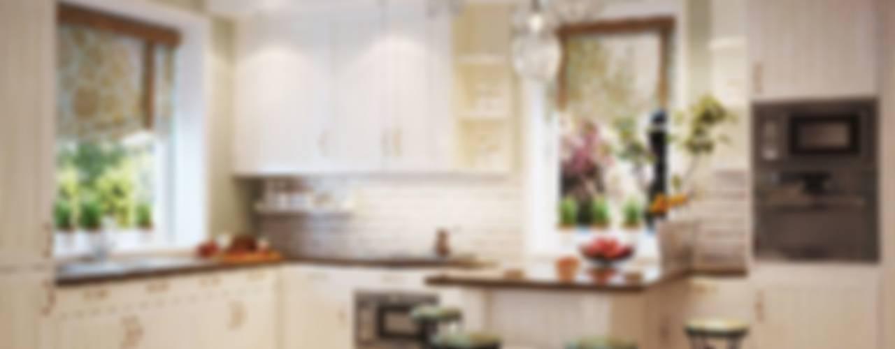 Дом в Санкт-Петербурге Кухня в классическом стиле от студия Design3F Классический