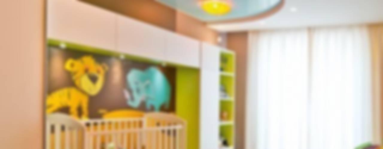 Quarto infantil tropical por Студия дизайна Tropical