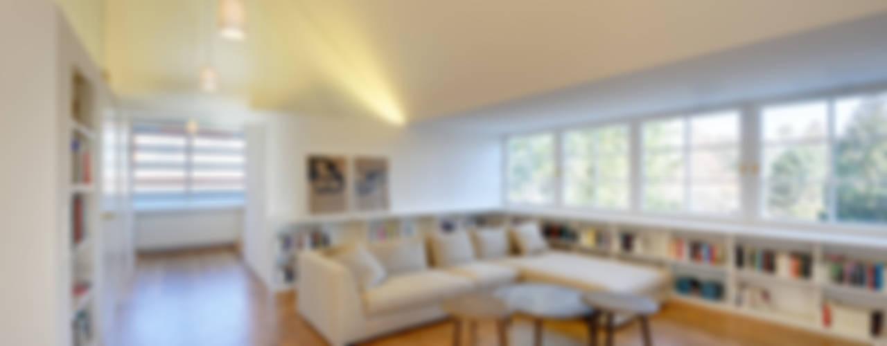 Projekty,  Salon zaprojektowane przez Möhring Architekten, Nowoczesny