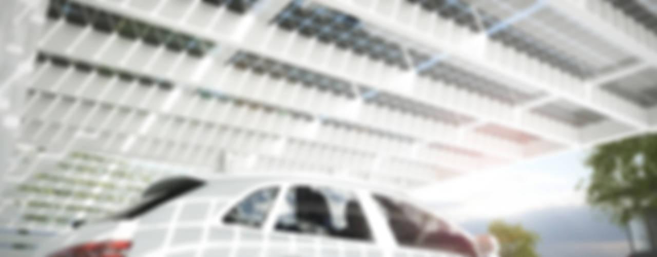 de Solarterrassen & Carportwerk GmbH Moderno