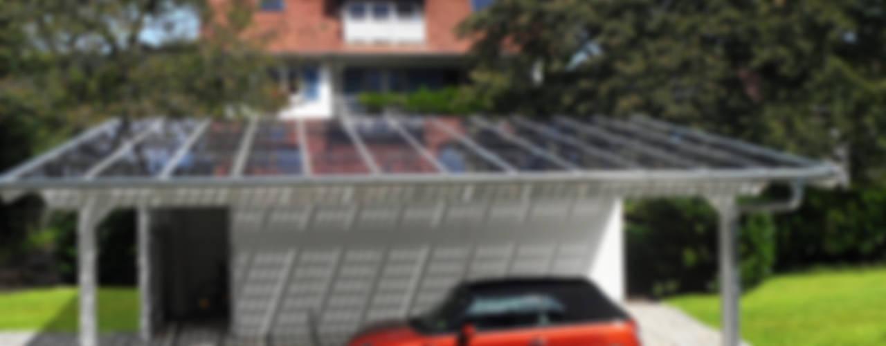 por Solarterrassen & Carportwerk GmbH Moderno