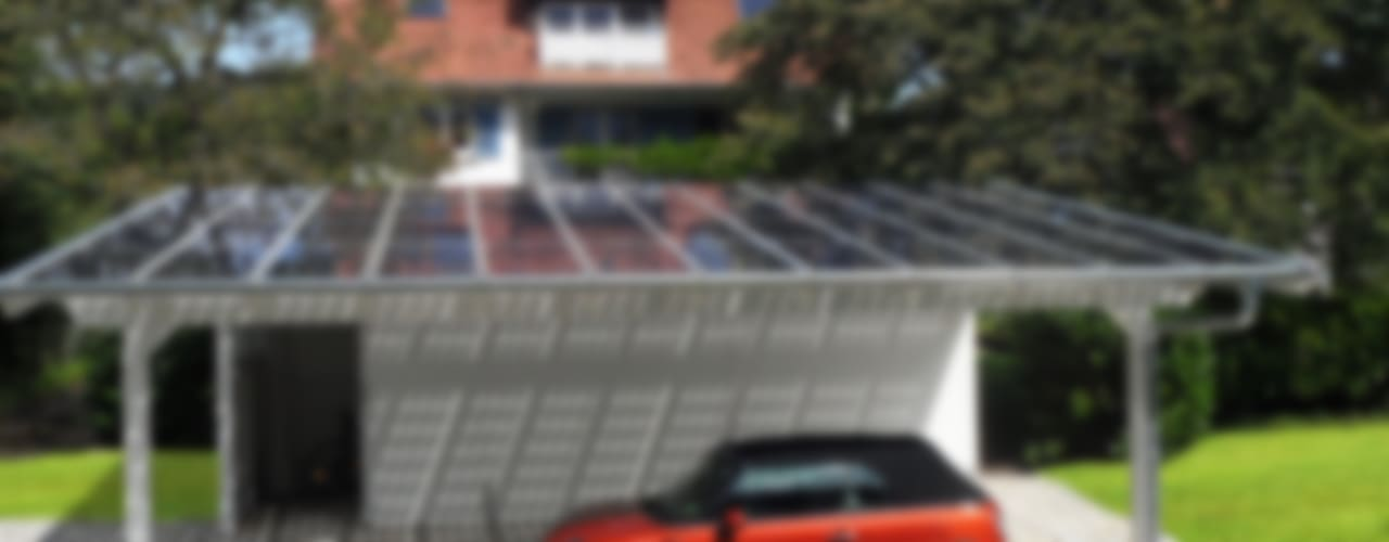 de style  par Solarterrassen & Carportwerk GmbH, Moderne