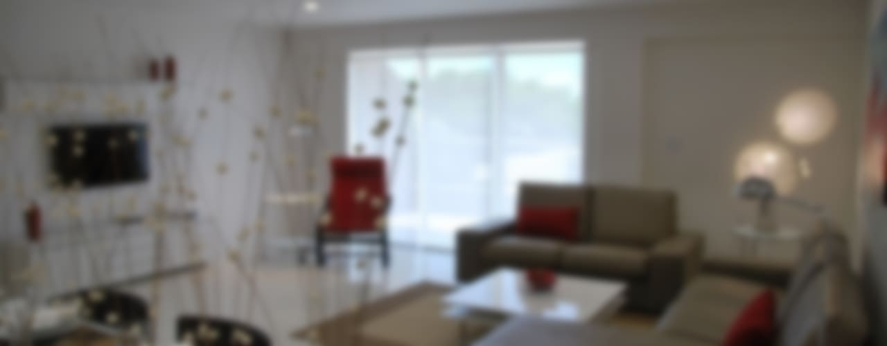Mixed Complex / Flat Modern Oturma Odası Gizem Kesten Architecture / Mimarlik Modern
