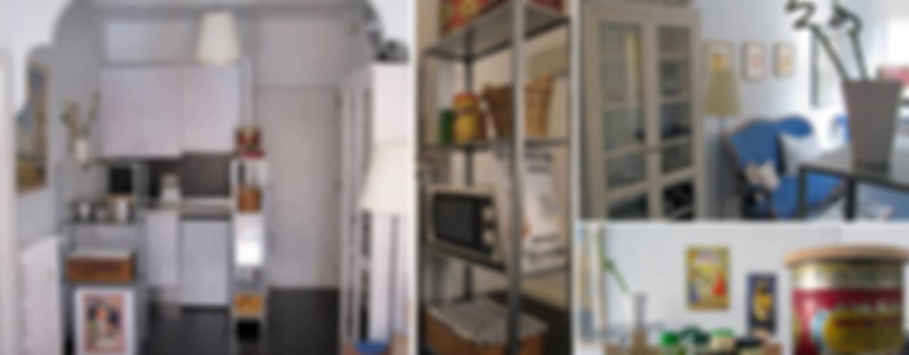 Apartamento en Chamberí, Madrid CarlosSobrinoArquitecto Cocinas de estilo ecléctico