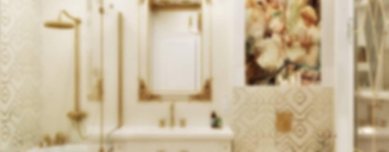 Квартира 78 м2, г. Минск Ванная в классическом стиле от студия Design3F Классический