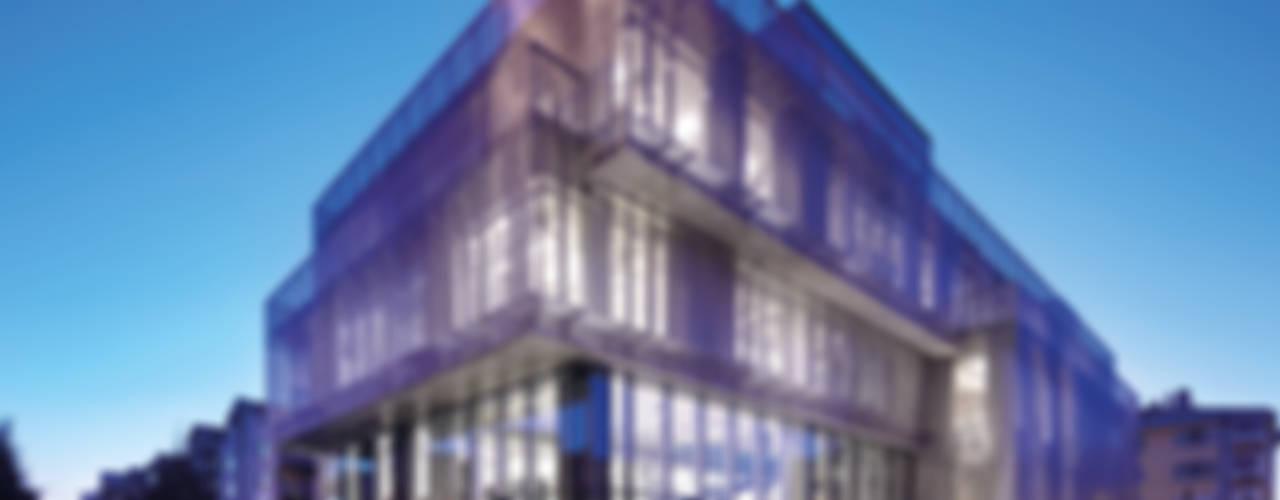 Avci Architects – Türkiye Müteahhitler Birliği Binası:  tarz Ofis Alanları