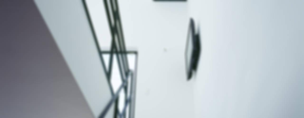 天窓のある家 ミニマルスタイルの 玄関&廊下&階段 の 高橋直子建築設計事務所 ミニマル