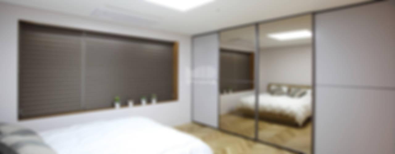 경기도 과천시 원문동 삼성래미안 슈르아파트 50평형 지중해스타일 침실 by MID 먹줄 지중해