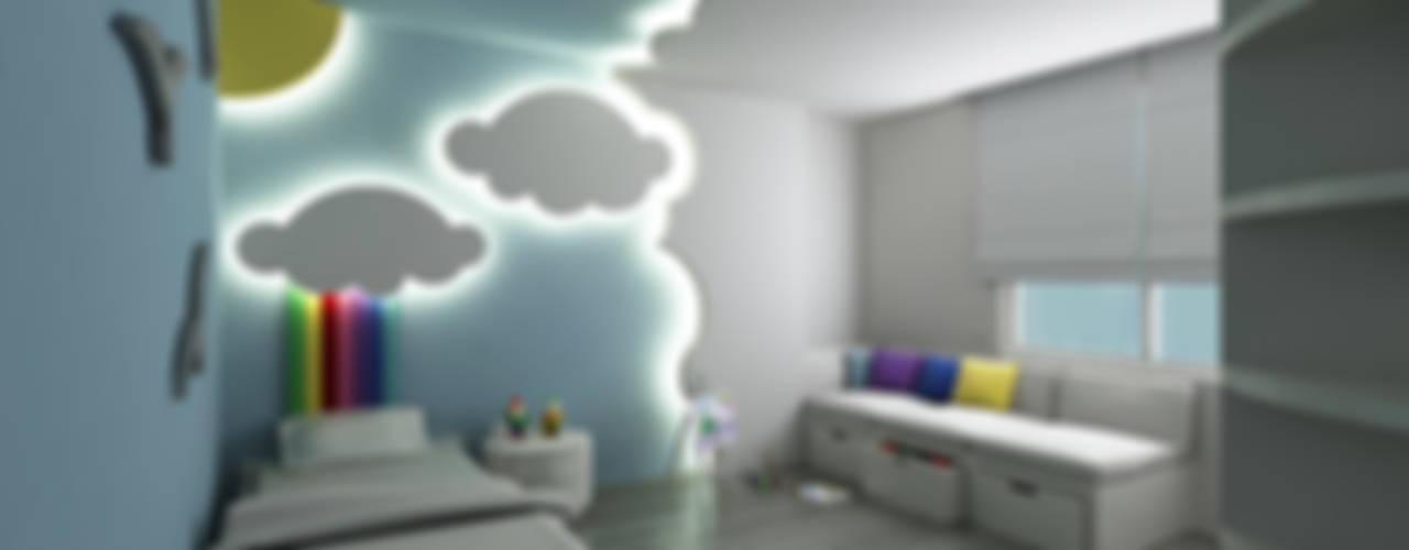 モダンデザインの 子供部屋 の Niyazi Özçakar İç Mimarlık モダン