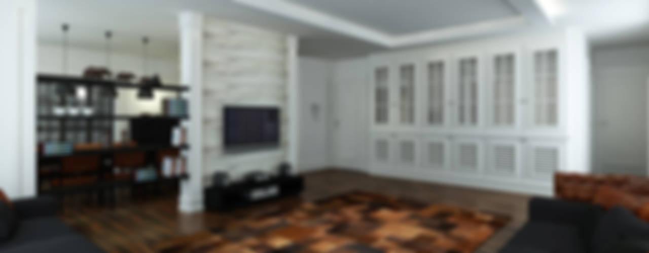 Niyazi Özçakar İç Mimarlık – M.A. EVİ:  tarz Oturma Odası