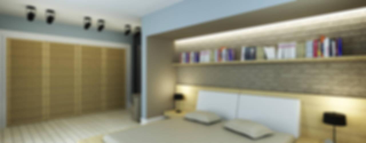 Dormitorios modernos: Ideas, imágenes y decoración de Niyazi Özçakar İç Mimarlık Moderno