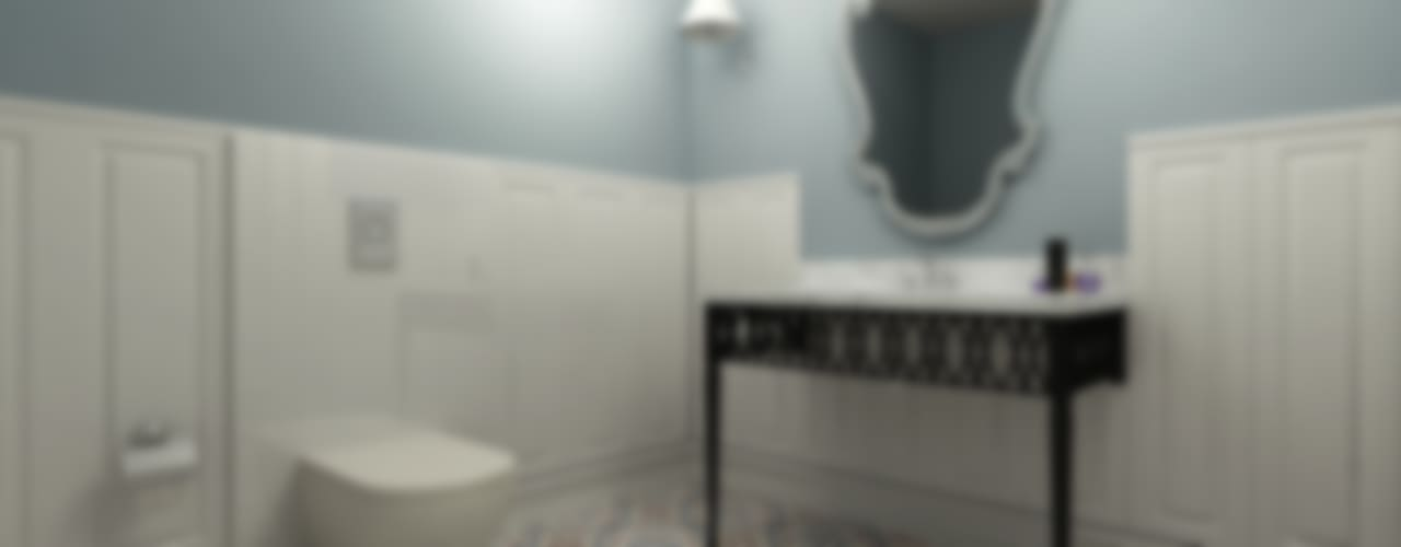 Eclectic style bathroom by Niyazi Özçakar İç Mimarlık Eclectic